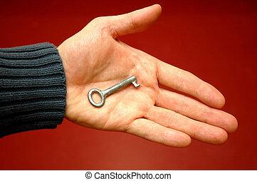 手のキー, 1