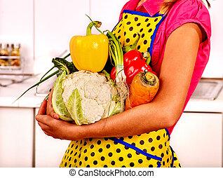 手掛かり, 野菜, 子供