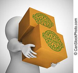 手段, 保険, 概念, アイコン, 保証, -, プロダクト, 予防措置, 欠陥, に対して, 3d, イラスト, ∥...