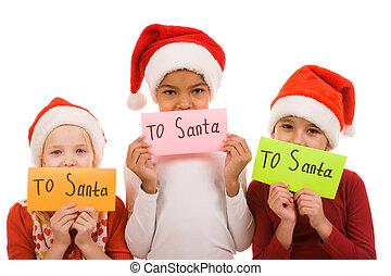 手紙, クリスマス