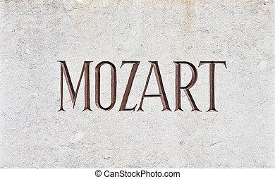 手紙, モーツァルト