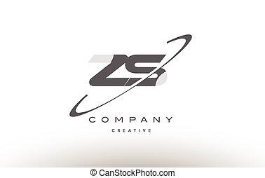 手紙, 灰色, z, ロゴ, s, アルファベット, zs, swoosh