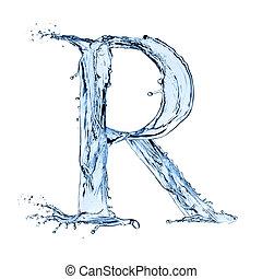 手紙, r
