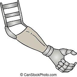 手臂, 平局, 修复