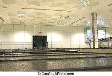 手荷物, 空港, ベルト