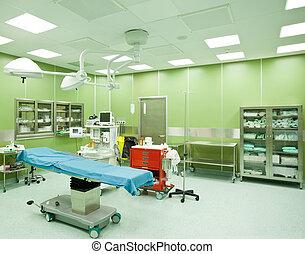 手術室, 醫院, 沒人