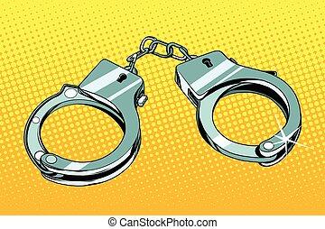手錠, 阻止, 犯罪