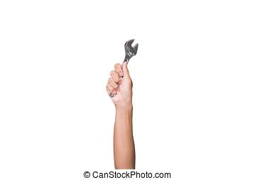 手, ∥で∥, 建設, tools., 家, 改修, バックグラウンド。