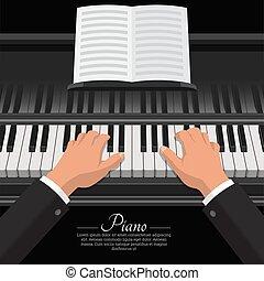 手, ピアニスト