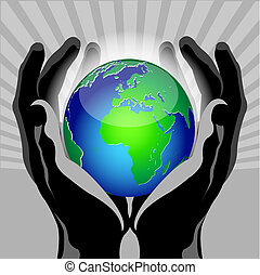 手, 全球