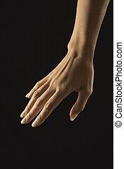 手。, 女性