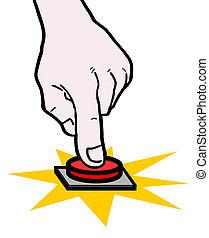 手, 按鈕