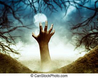 手, 穴, 人間