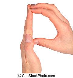 手, 表す, 手紙 p, から, アルファベット