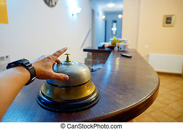 手, 鳴り響く, サービス 鐘