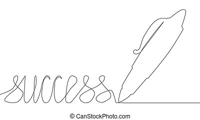 手, pen., 絶え間がない, 1(人・つ), ミニマリスト, 線, art., drawing.pen.,...