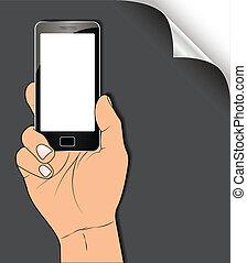 手, smartphone