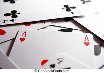 扑克牌, 卡片游戏