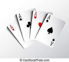 扑克牌, 卡片