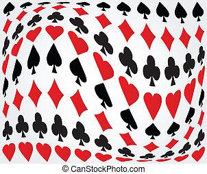 扑克牌, 背景