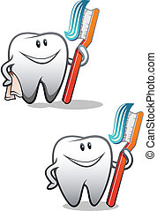打掃, 牙齒