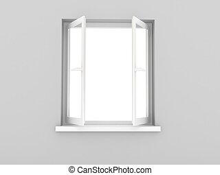 打開 窗口