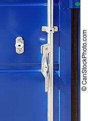 打開, 門閂, 容器