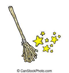 扫帚, 魔术, 卡通漫画