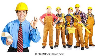 承包商, 人們