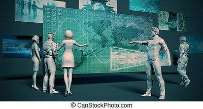 技術, 下部組織
