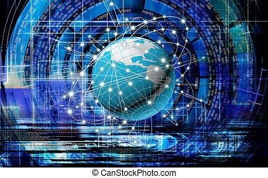 技術, 全球, 因特網商業, 創新