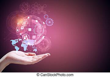 技術, 未來, 以及, 革新