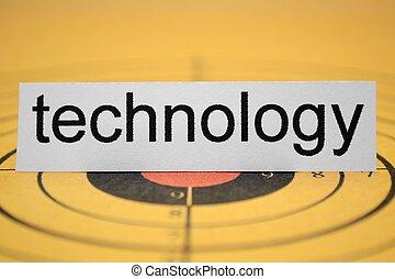 技術, 目標