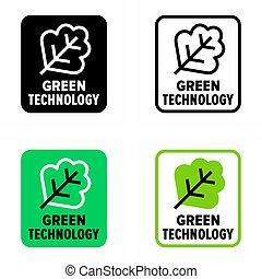 技術, 緑