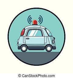技術, 追跡者, 自動車, gps