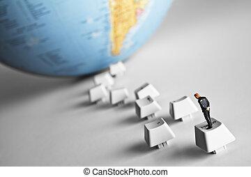 技術, 領導, 到, 世界, 知識