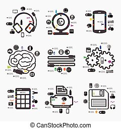 技術, infographic