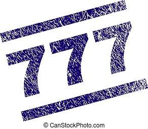 抓, textured, 777, 邮票, 密封