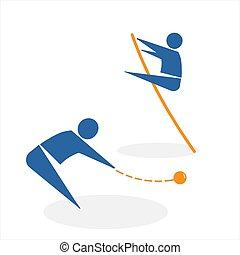 投げる, 核心, 棒高跳び