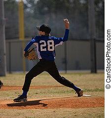 投げる, 野球ピッチャー