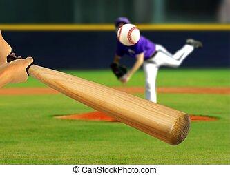 投擲, 擊球員, 球, 投手
