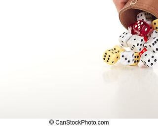 投擲, 骰子