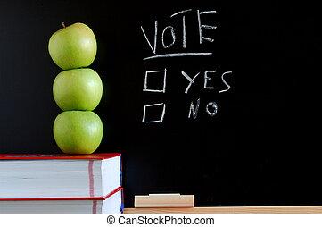 投票, はい, ∥あるいは∥, いいえ