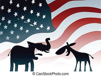 投票, アメリカ, 選択