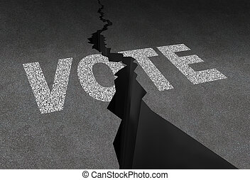 投票, 分けられる