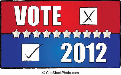 投票, 背景, 2012