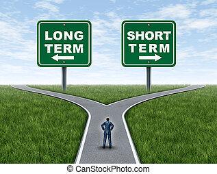 投資, 期限, 短, 長