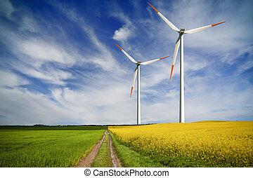 投资, 全球, 能量, 绿色