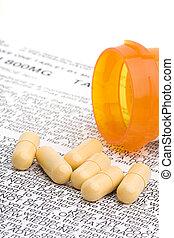 抗生素, 藥物處理, 指示