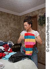 折り畳み式の洗濯所